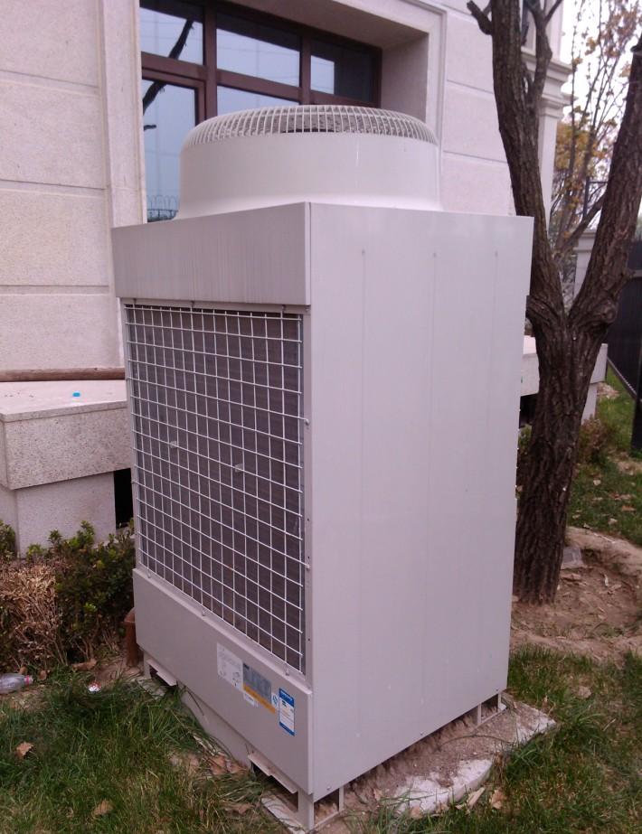 远洋天著别墅中央空调安装改造